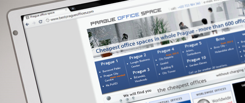 Prague Offices - frontpage