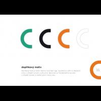 Doplňkový prvek vizuálního stylu společnosti CHETES
