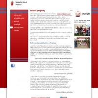 Pnadační fond projektová stránka