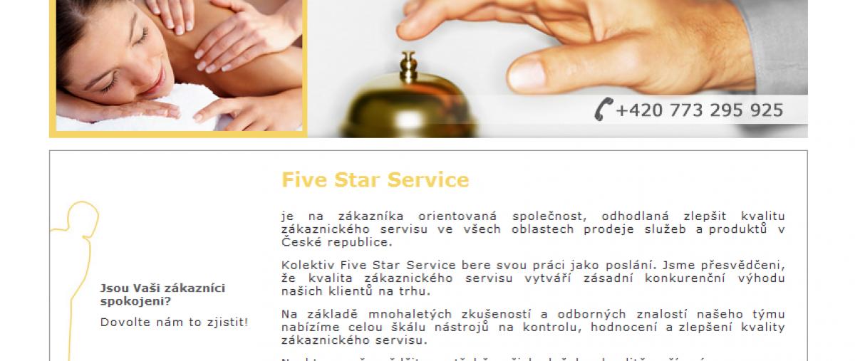 Zákaznický servis - homepage