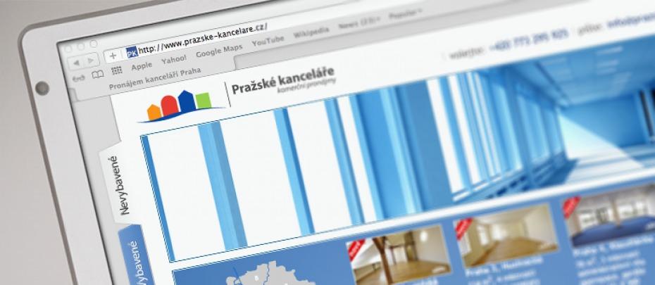 Pronájem kanceláří Praha - homepage