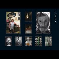 Strana s fotografiemi z výroční zprávy pro galerii fotografie Galerie 4